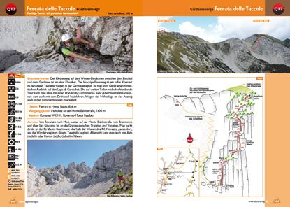 Klettersteig Magnifici Quattro : Klettersteigführer dolomiten südtirol gardaseeberge mit dvd rom